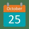 October 25