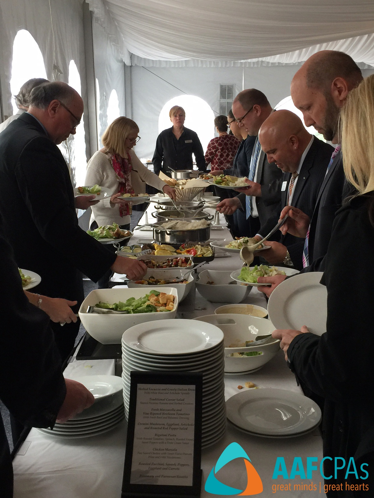 Nonprofit Conference Lunch Boston